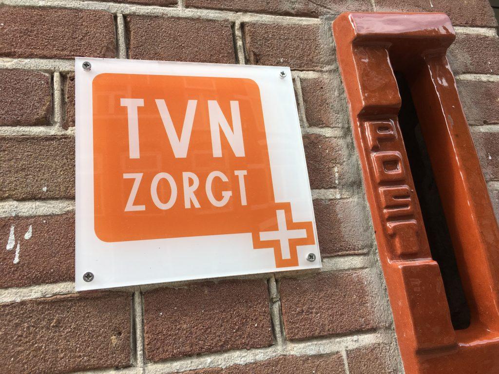 TVN Zorgt, zorg en begeleiding, brievenbus van kantoor Nijmegen voor contact