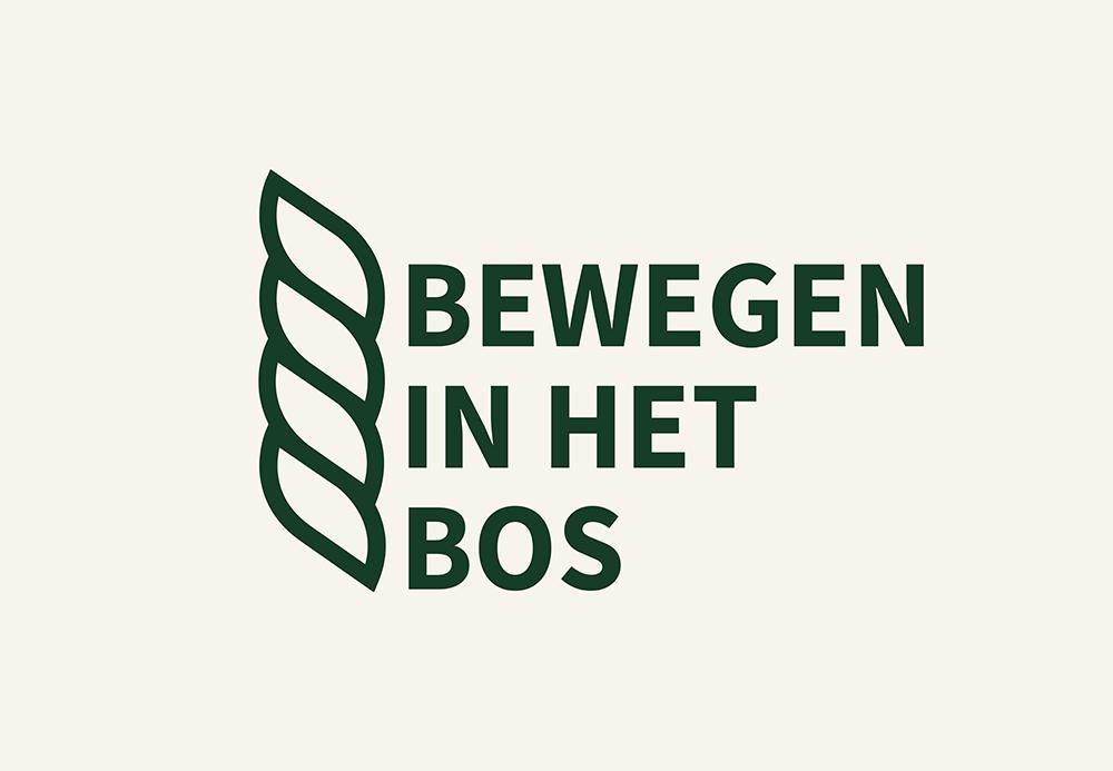 Logo van bewegen in het bos van TVN Zorgt