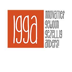 Logo IGGA innovatief gewoon gezellig anders begeleiding en coaching