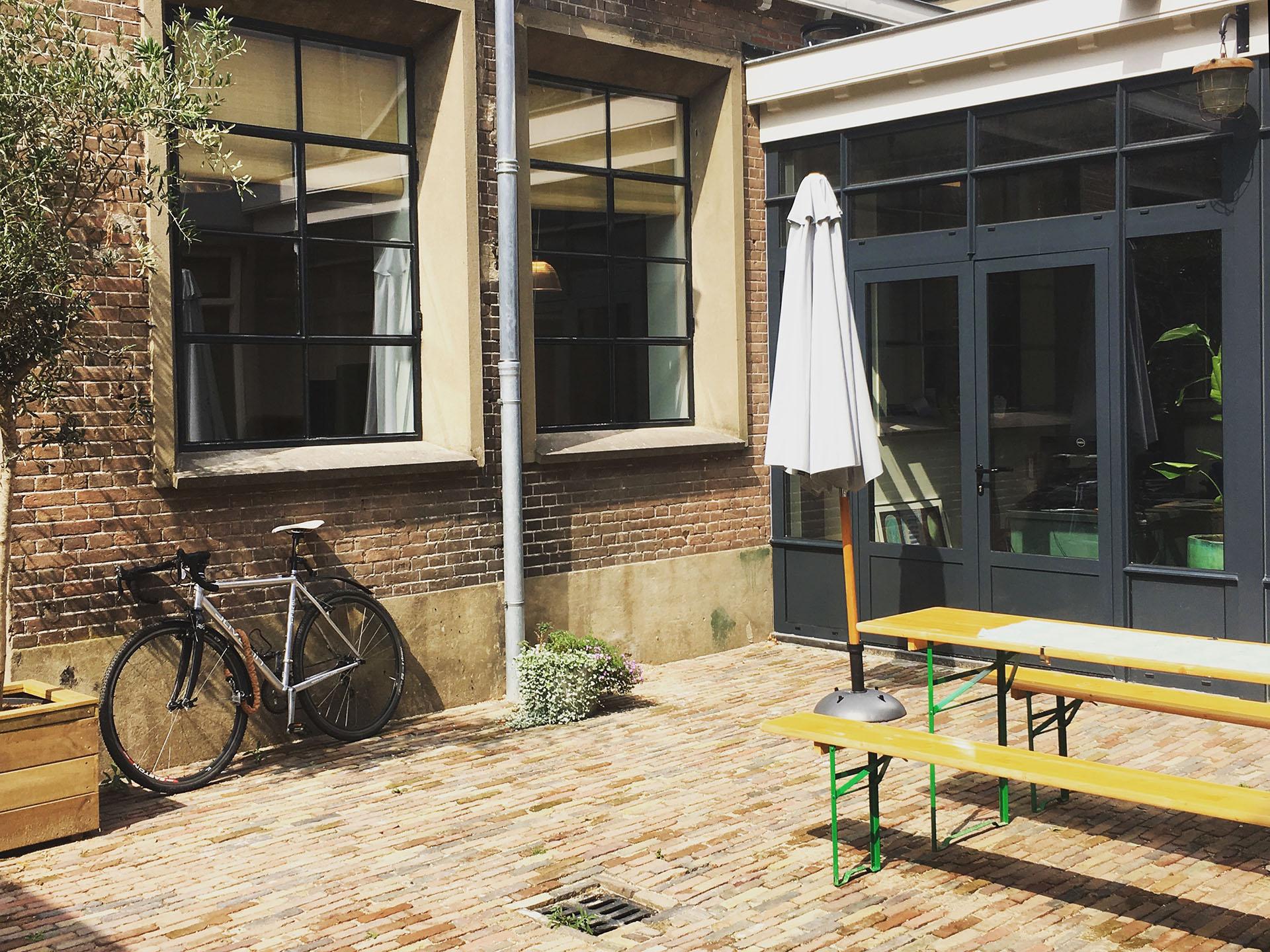 Kantoortuin van TVN Zorgt Nijmegen van de Havestraat 82