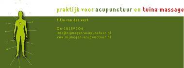 Praktijk voor acupunctuur en tuina massage
