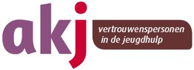 Logo AKJ voor onafhankelijk vertrouwenspersoon Jeugd